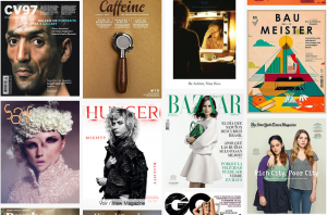 Recopilación de portadas de Magazine Wall