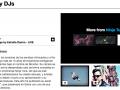 En la página web de Sonar podrás ver videos y escuchar las canciones de los artistas que acudirán al festival