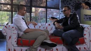 Momento de la entrevista de Risto Mejide a David Muñoz - Imagen de Cuatro TV