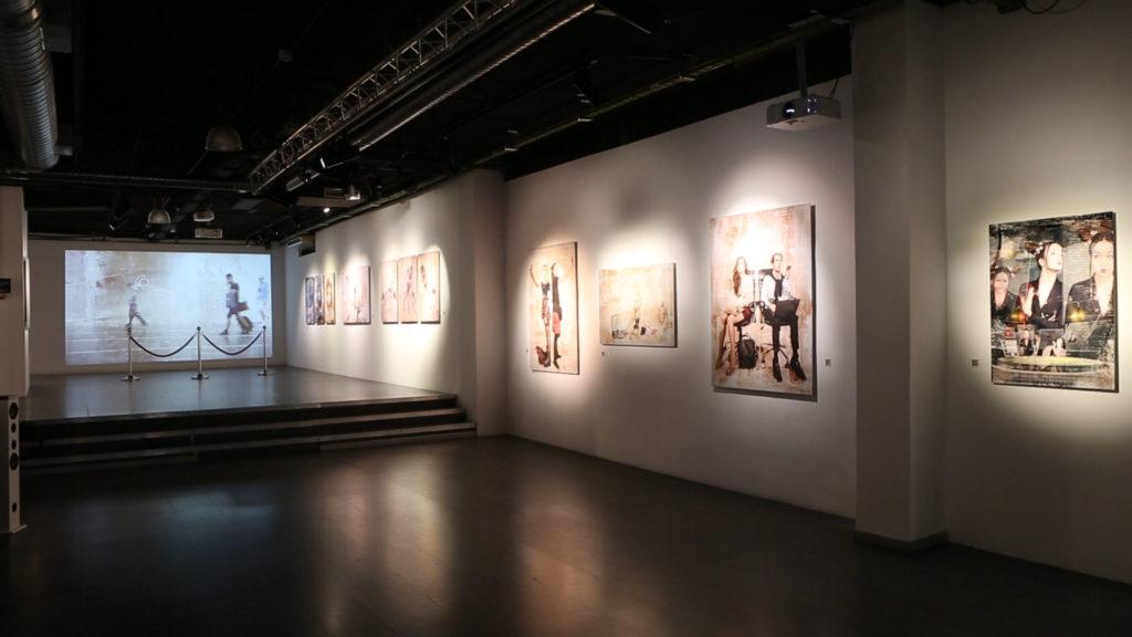 Obras de la exposición Evolutions en Clorofila Digital