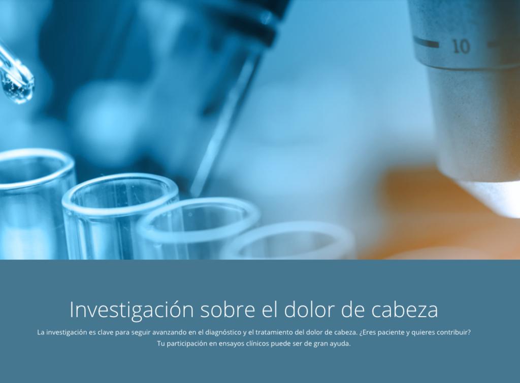 Sección Investigación de la web de AEMICE