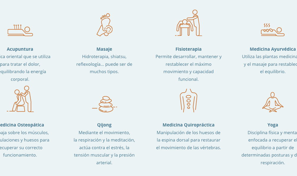 Ejemplo de iconografía rediseño web AEMICE