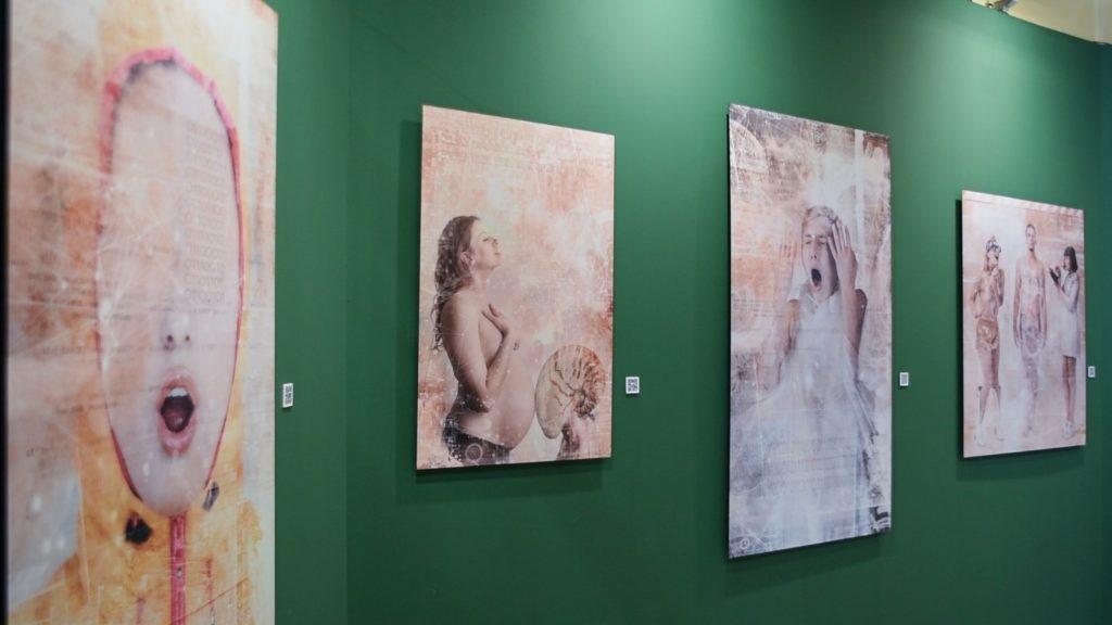 Obras de la exposición Evolutions