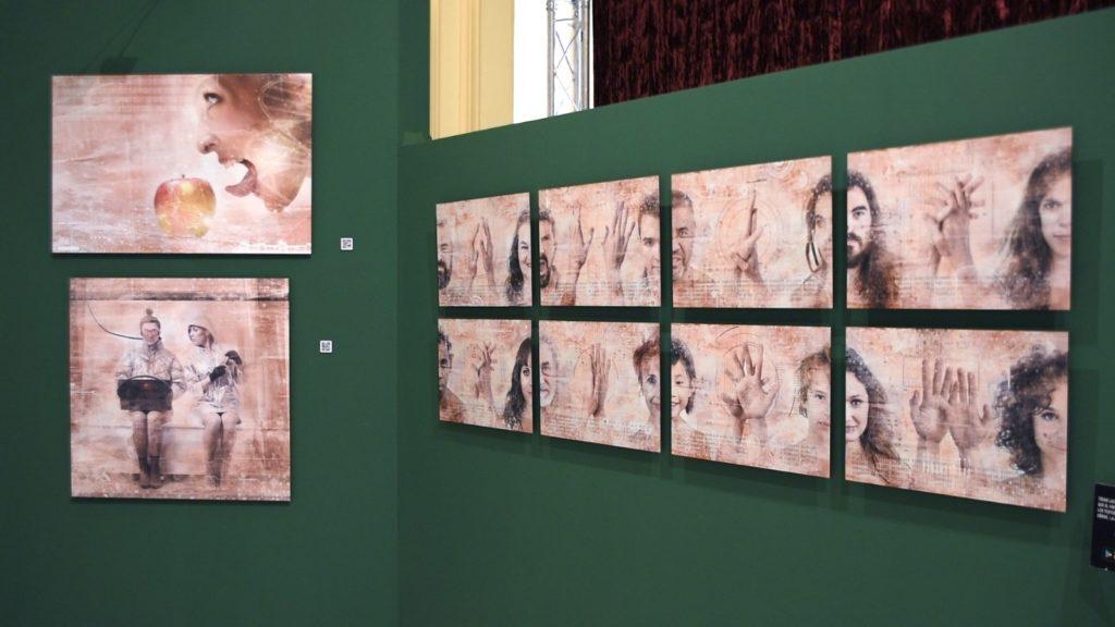 Obras exposición Alcalá de Henares