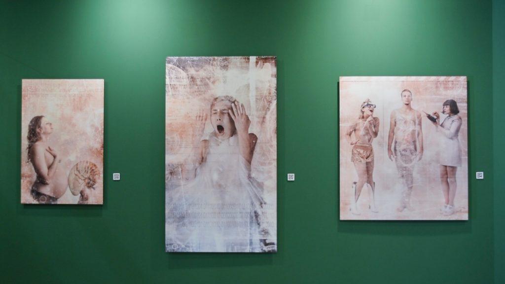 Obras de la exposición