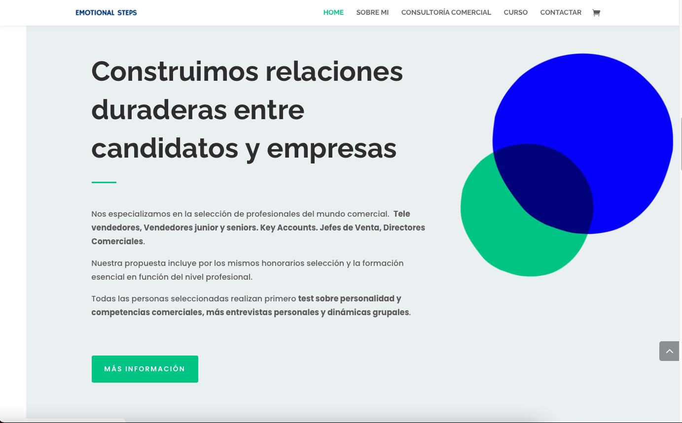 Servicios web de formación comercial
