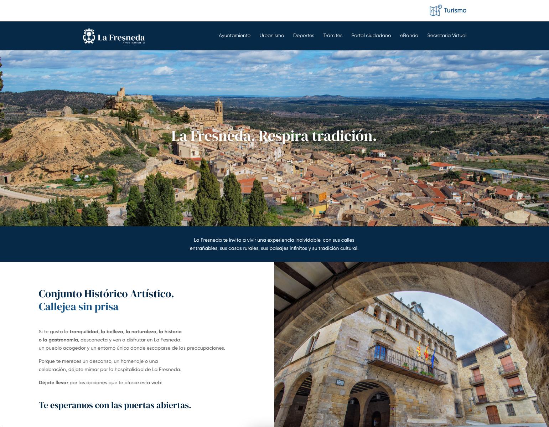 Oficina virtual y web de la fresneda